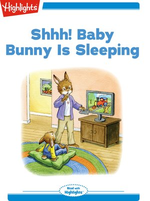 cover image of Shhh Baby Bunny Is Sleeping