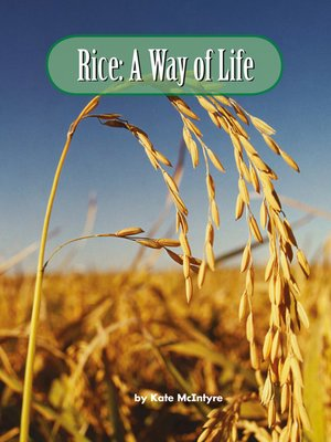 cover image of Rice: A Way of Life
