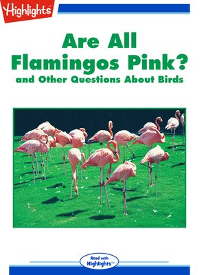 cover image of Are All Flamingos Pink? and Other Questions About Birds