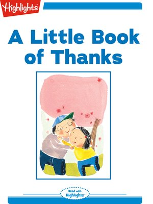 cover image of A Little Book of Thanks
