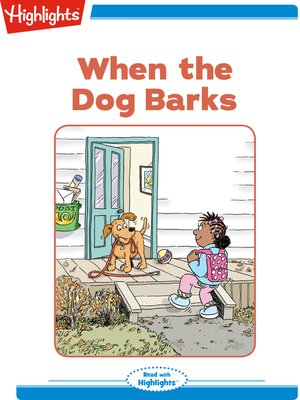 cover image of When the Dog Barks