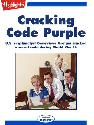 cover image of Cracking Code Purple