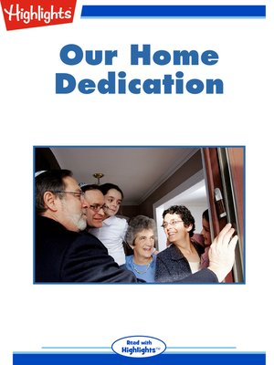 cover image of Our Home Dedication