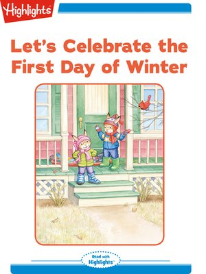 cover image of Let's Celebrate the First Day of Winter