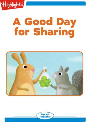cover image of A Good Day for Sharing