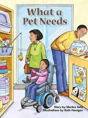 cover image of What a Pet Needs