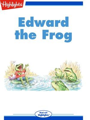 cover image of Edward the Frog