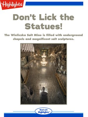 cover image of Don't Lick the Statues!
