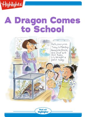 cover image of A Dragon Comes to School