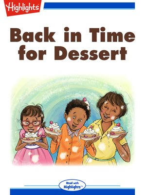cover image of Back in Time for Dessert