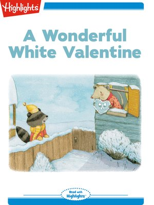 cover image of A Wonderful White Valentine
