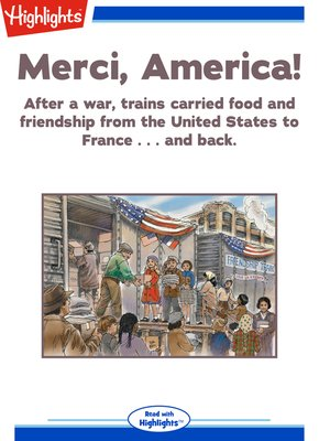 cover image of Merci, America!