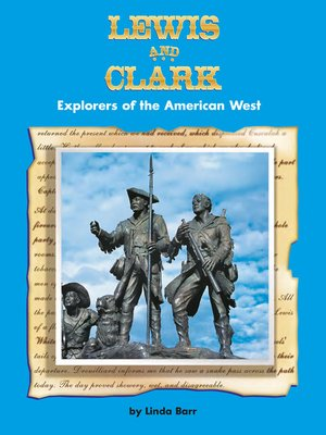 cover image of Lewis and Clark: Explorers of the American West