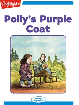 cover image of Polly's Purple Coat