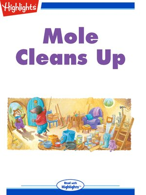 cover image of Mole Cleans Up