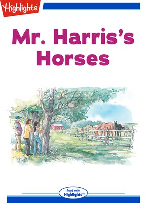 cover image of Mr. Harris's Horses