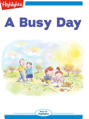 cover image of A Busy Day