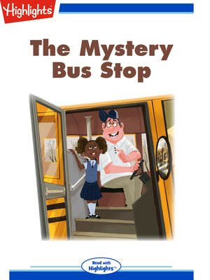 cover image of The Mystery Bus Stop