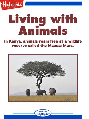 cover image of Living with Animals