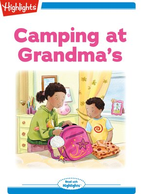 cover image of Camping at Grandma's