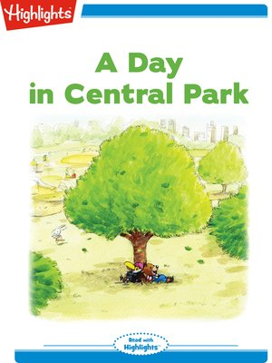 cover image of A Day in Central Park