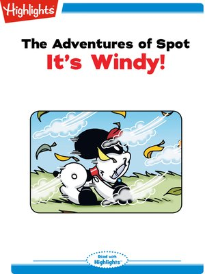 cover image of The Adventures of Spot: It's Windy