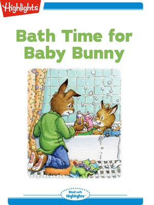cover image of Bath Time for Baby Bunny