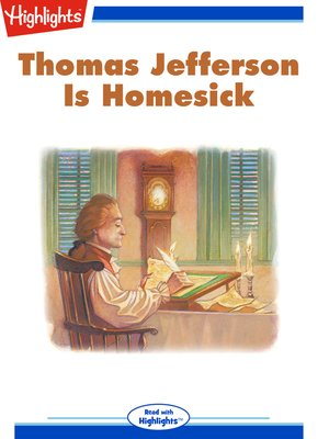 cover image of Thomas Jefferson is Homesick