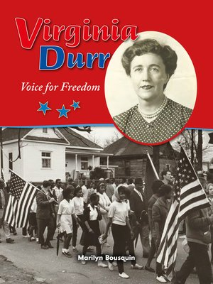cover image of Virginia Durr: Voice for Freedom