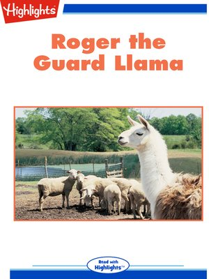 cover image of Roger the Guard Llama