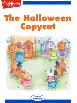 cover image of The Halloween Copycat