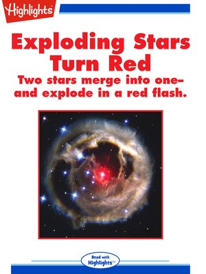 cover image of Exploding Stars Turn Red