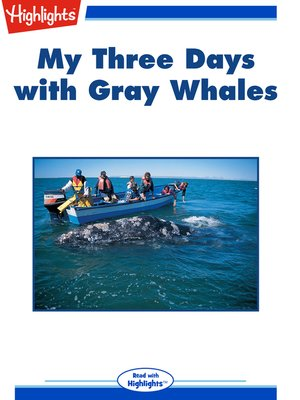 cover image of My Three Days with Gray Whales