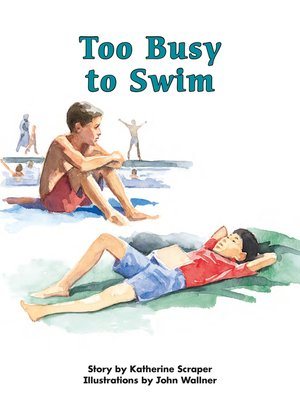 cover image of Too Busy to Swim