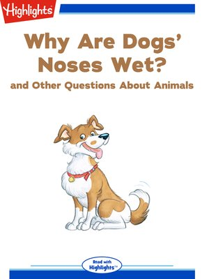 cover image of Why Are Dogs' Noses Wet? and Other Questions About Animals