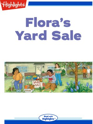cover image of Flora's Yard Sale