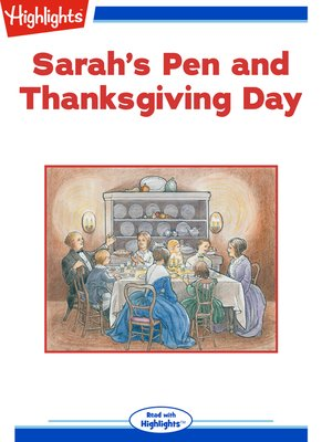 cover image of Sarah's Pen and Thanksgiving Day