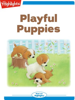 cover image of Playful Puppies