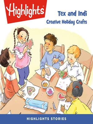 cover image of Tex and Indi: Creative Holiday Crafts