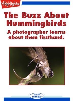 cover image of The Buzz About Hummingbirds