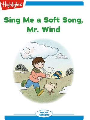 cover image of Sing Me a Soft Song Mr. Wind