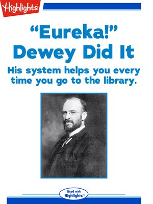 "cover image of ""Eureka!"" Dewey Did It"