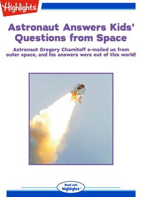 cover image of Astronaut Answers Kids' Questions from Space
