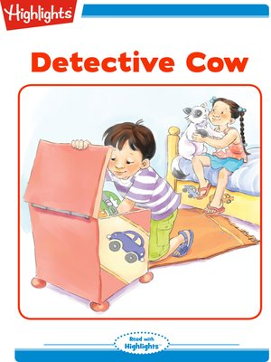 cover image of Detective Cow