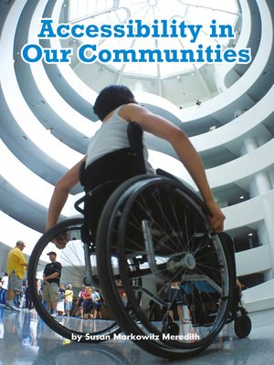 cover image of Accessibility in Our Communities