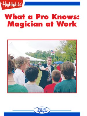cover image of Magician at Work