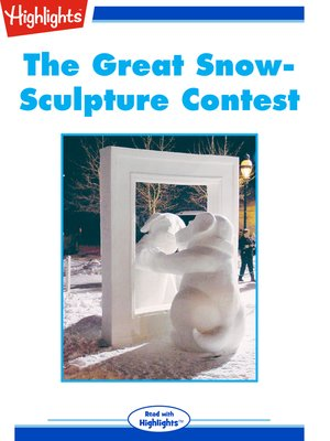 cover image of The Great Snow-Sculpture Contest