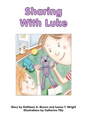 cover image of Sharing With Luke