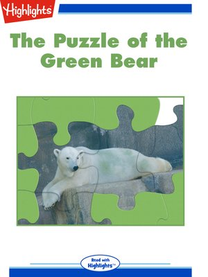 cover image of The Puzzle of the Green Bear