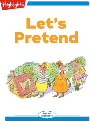 cover image of Let's Pretend